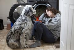 Consoling friend Stock Photos