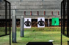 thai gunnery drills - stock photo