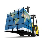 Global logistics Stock Illustration
