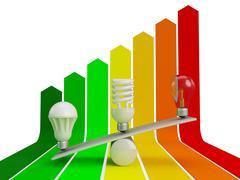 Energie Sparen Piirros