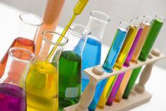 Stock Photo of Chemical, Science, Laboratory, Test Tube, Laboratory Equipment