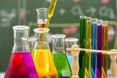 Chemical, Science, Laboratory, Test Tube, Laboratory Equipment Stock Photos