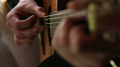 Playing guitar Stock Footage