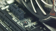 Stock Video Footage of Computer Cooler