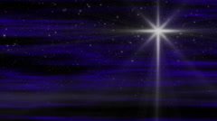 Starlight Nativity Loop Stock Footage