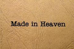 Made in heaven Stock Photos