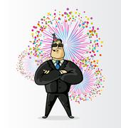 Bodyguard Stock Illustration
