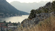 Stock Video Footage of Kotor bay - boka bay