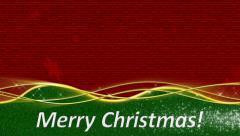 Merry Christmas Loop - stock footage