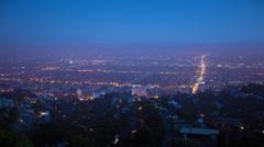LA Nightly HD - stock footage