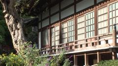 A seaside shrine in Izu, Japan Stock Footage