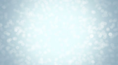 Stock Video Footage of Blue glitter background - seamless loop, winter theme