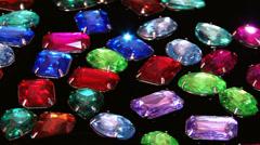 Imitation jewelry - stock footage