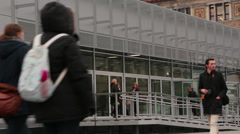 The Topography of Terror (German- Topographie des Terrors) - stock footage