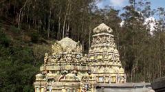 Seetha Amman Hindu Temple. Seetha Eliya, Sri Lanka. Stock Footage