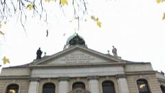 The Neue Kirche Stock Footage
