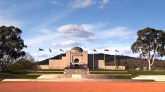 Aust war memorial Stock Footage