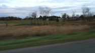 Stock Video Footage of Driving on a Country Road
