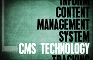 Stock Illustration of cms technology