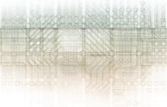 biomedical engineering - stock illustration
