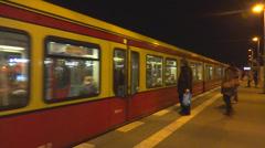 Berlin transportation Stock Footage