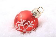 christmas, christmas ornament - stock photo
