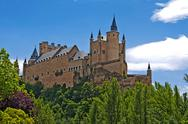 Stock Photo of alcazar of segovia