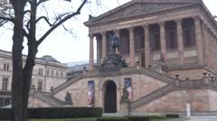 Deutschen Kunst Museum – Berlin Stock Footage