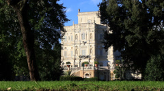 Villa Doria Pamphili in Rome 1 Stock Footage