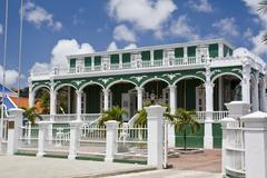 Architecture of Curacao - stock photo
