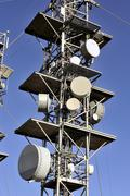 antennas - stock photo