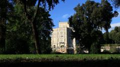 Villa Doria Pamphili in Rome 2 Stock Footage