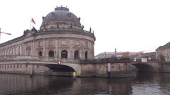 Berlin bode museum Stock Footage