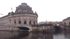 Berlin spree Stock Footage