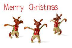 Reindeers christmas Stock Photos