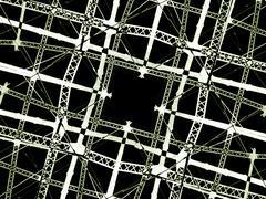 High tech grid background Stock Illustration