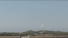 US - Ballistic Missile Target Launch 03 Stock Footage