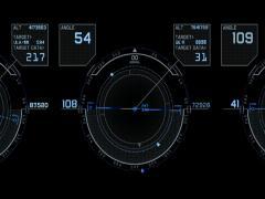 HUD Air Stock Footage