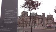 Stock Video Footage of berlin german parliament house reichstag