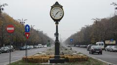 Bucharest city, Romania - stock footage