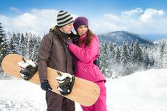 Winter holiday Stock Photos