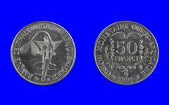 50 francs - stock photo