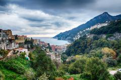 Stock Photo of Amalfi Coast - Vietri sul Mare