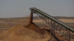 Gravel pit 1 Stock Footage