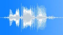 Military Radio Message: KIA. Male Voice Signal, V2 Sound Effect