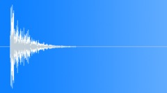 Sheet Metal Impact: Strong Bullet Hit Smash Punch - V6 - sound effect