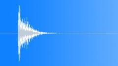 Sheet Metal Impact: Strong Bullet Hit Smash Punch - V5 Sound Effect