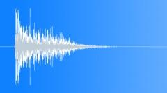Sheet Metal Impact: Strong Bullet Hit Smash Punch - V3 Sound Effect
