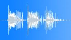 Military Radio Message: MIA. Male Voice Signal, V1 Sound Effect