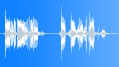 Military Radio Message: MIA - Missing In Action. Male Voice Signal Sound Effect